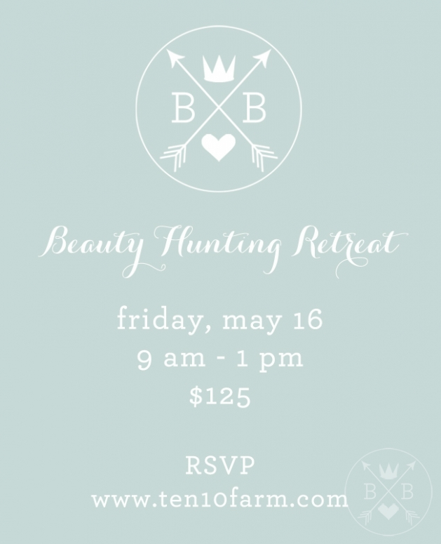 spring beauty hunting